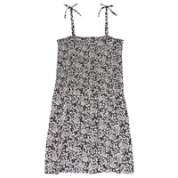 Clothing Girl Short Dresses Le Temps des Cerises PUNTA Black / White