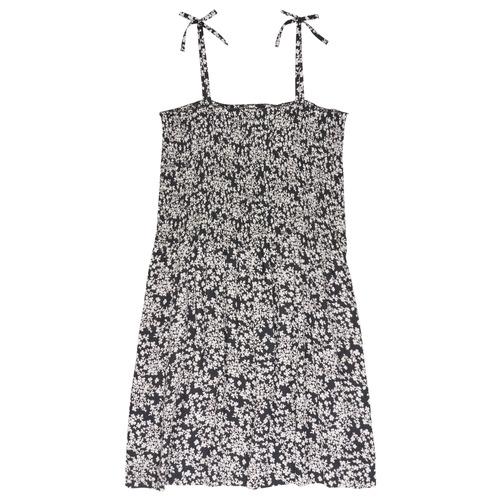 Clothing Girl Short Dresses Le Temps des Cerises PUNTA Black / White