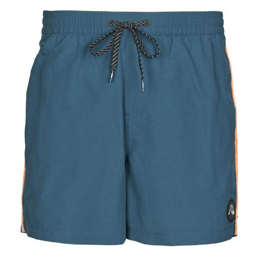 Clothing Men Trunks / Swim shorts Quiksilver BEACH PLEASE Blue
