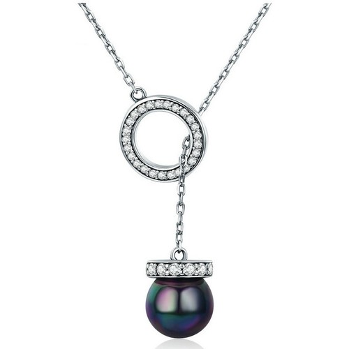 Watches Women Necklaces Blue Pearls CRY C2079 J Multicolored