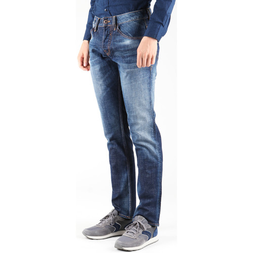 Clothing Men Straight jeans Guess Outlaw PF12 M23A68D0OD1 CONN navy