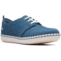 Shoes Women Low top trainers Clarks Step Glow Lace Blue