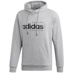 Clothing Men Sweaters adidas Originals M Brilliant Basics Hooody Grey
