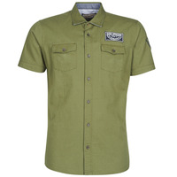 Clothing Men short-sleeved shirts Petrol Industries SHIRT SS Kaki