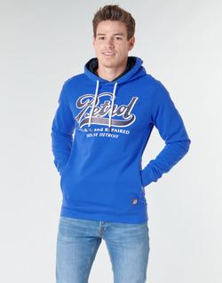 Clothing Men sweaters Petrol Industries SWEATER HOODED Blue