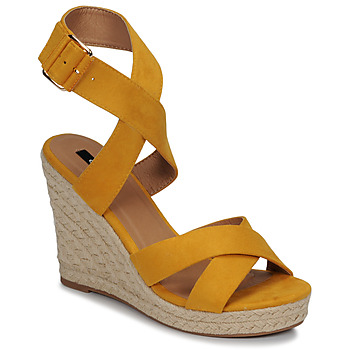 Shoes Women Sandals Only AMELIA WRAP Yellow
