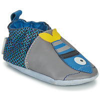 Shoes Children Slippers Robeez FISHY Grey / Blue