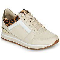 Shoes Women Low top trainers MICHAEL Michael Kors BILLIE Beige / Leopard