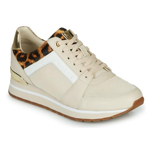 Shoes Women Low top trainers MICHAEL Michael Kors BILLIE Beige / Leopard