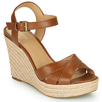 Shoes Women Sandals MICHAEL Michael Kors SUZETTE WEDGE Cognac