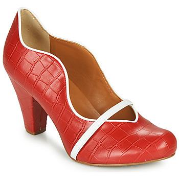 Shoes Women Heels Cristofoli NEFI Red