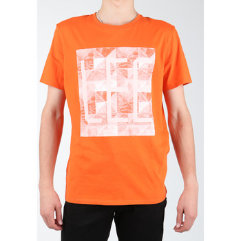Clothing Men T-shirts & Polo shirts Lee Logo Tee L63GAIMO orange