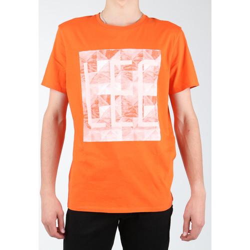 Clothing Men T-shirts & Polo shirts Lee Logo Tee L63GAIMO orange