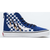 Shoes Children Hi top trainers Vans SK8HI Zip Blue