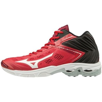 Shoes Men Multisport shoes Mizuno Wave Lightning Z 5 Mid Black, Red