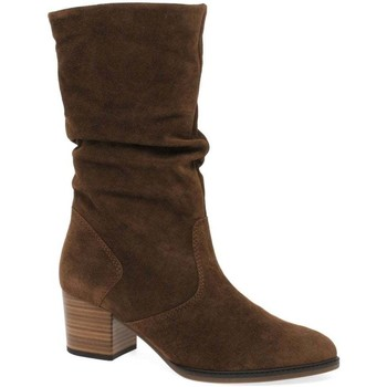 Shoes Women High boots Gabor Ramona Calf-Length Boots brown