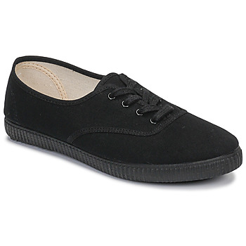 Shoes Low top trainers Yurban ARTOUM Black / Black