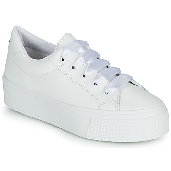 Shoes Women Low top trainers Yurban JUNNY White