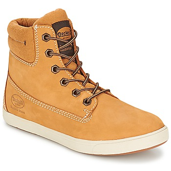 Shoes Men Hi top trainers Dockers by Gerli GUINOUDE Golden Tan