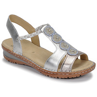 Shoes Women Sandals Ara HAWAII White / Silver