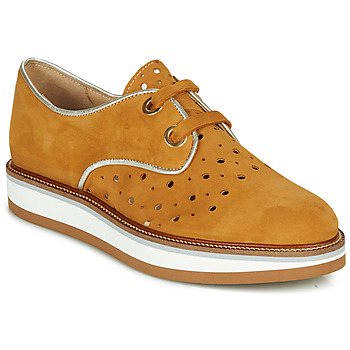 Shoes Women Derby Shoes Philippe Morvan NAXY Brown