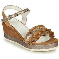 Shoes Women Sandals Regard DURTAL V2 CROSTA CUOIO Brown