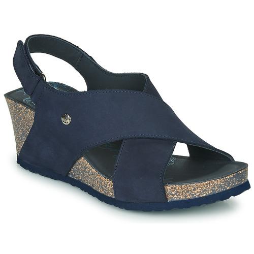 Shoes Women Sandals Panama Jack VALESKA Blue