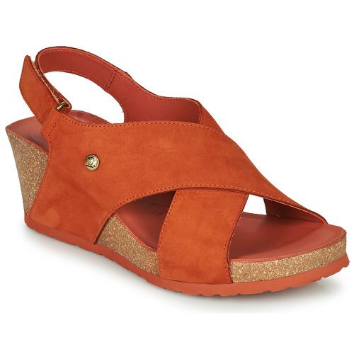 Shoes Women Sandals Panama Jack VALESKA Brown