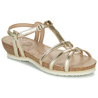 Shoes Women Sandals Panama Jack DORI Gold