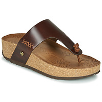 Shoes Women Flip flops Panama Jack QUINOA Brown