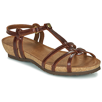 Shoes Women Sandals Panama Jack DORI Brown