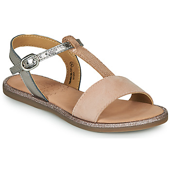 Shoes Girl Sandals Mod'8 PALIKY Grey / Pink