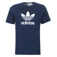 Clothing Men short-sleeved t-shirts adidas Originals  Marine