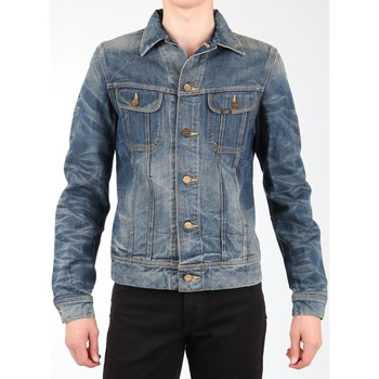 Clothing Men Jackets / Blazers Lee Rider Jacket L88842RT navy