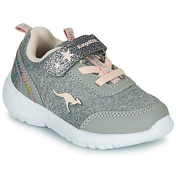 Shoes Girl Low top trainers Kangaroos KY-Citylite EV Grey / Pink