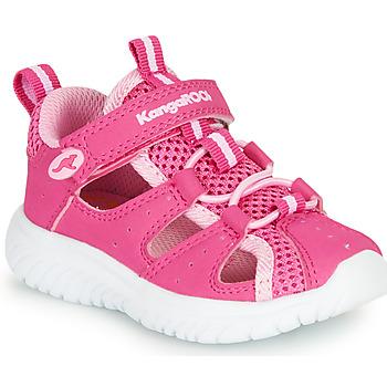 Shoes Girl Sandals Kangaroos KI-ROCK LITE EV Pink