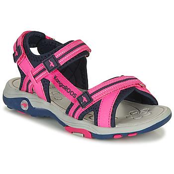 Shoes Girl Sandals Kangaroos K-Leni Pink