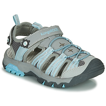 Shoes Girl Outdoor sandals Kangaroos KT-SONATA Grey
