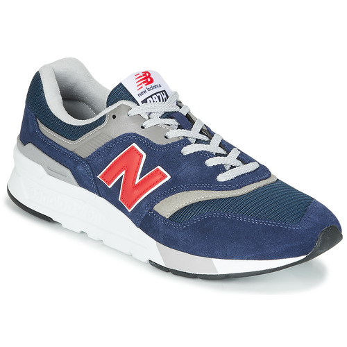 Shoes Low top trainers New Balance 997 Blue / Red