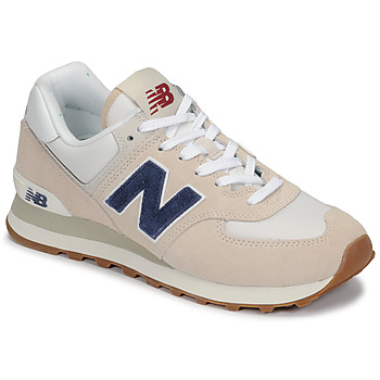 Shoes Low top trainers New Balance 574 Beige / Blue