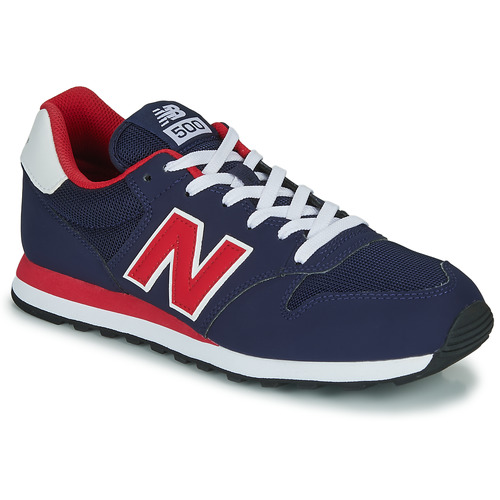 Shoes Men Low top trainers New Balance 500 Blue / Red