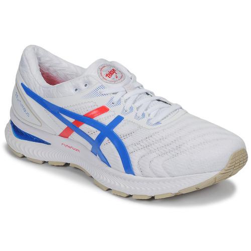 Shoes Men Running shoes Asics GEL-NIMBUS 22 - RETRO TOKYO White