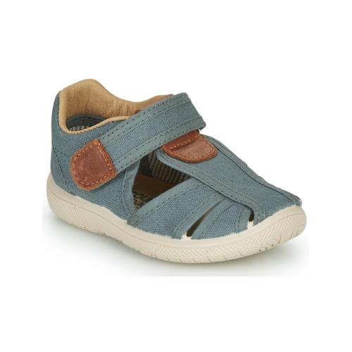 Shoes Boy Sandals Citrouille et Compagnie GUNCAL Grey