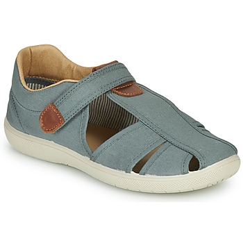 Shoes Boy Sandals Citrouille et Compagnie GUNCAL Grey