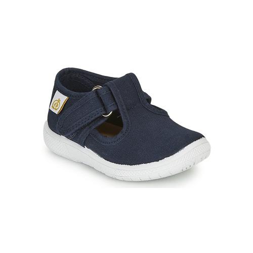 Shoes Children Flat shoes Citrouille et Compagnie MATITO Marine