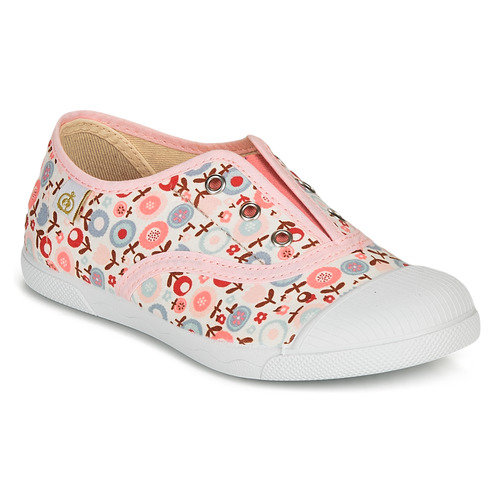 Shoes Girl Low top trainers Citrouille et Compagnie RIVIALELLE Pink / Multicolour
