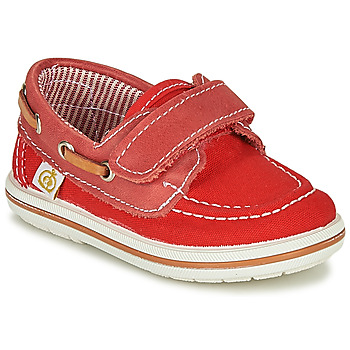 Shoes Boy Boat shoes Citrouille et Compagnie GASCATO Red