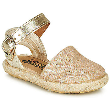 Shoes Girl Sandals Citrouille et Compagnie MIOSOTIS Gold