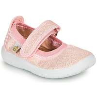 Shoes Girl Flat shoes Citrouille et Compagnie MIRABEL Pink