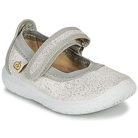 Shoes Girl Flat shoes Citrouille et Compagnie MIRABEL Silver